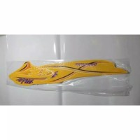 striping sticker list Yamaha mio sporty 2005 motif bunga kuning
