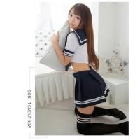 Set 4Pcs Cosplay Sailormoon Lingerie Seragam Sekolah Jepang Baju Tidur