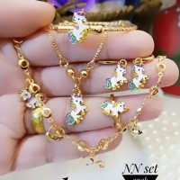 Xuping Set Perhiasan Anak Lapis Emas 24k B323