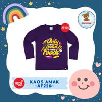 Kaos Anak / Baju Anak / Atasan Anak Perempuan Afrakids (AF226)