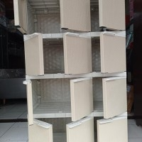 Lemari Anak Plastik Akako Serbaguna 12 Pintu Jumbo Besar Arafahnila1