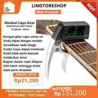 Alat musik Capo Gitar akustik aksesoris Aluminium Silver