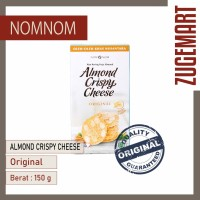 Almond Crispy Cheese / Kue Kering Nom Nom - Original / Cheese