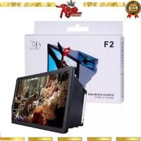 Pembesar Layar 3D F2 Alat Pembesar Layar HP Phone Holder