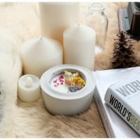2 Soy Wax Scented Candles DIY Kit / DIY Kit Lilin Aromaterapi