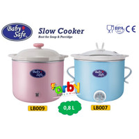 Baby Safe Digital Slow Cooker Alat Masak Makanan Bayi (0,8L)