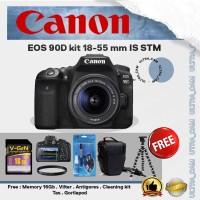 Canon EOS 90D kit 18-55 mm IS STM - Kamera DSLR PAKET (DISTRIBUTOR)