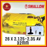 Ban Dalam Sepeda Swallow 26 x 2.125/2.35 AV