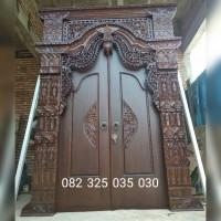 Rumah Gebyok Jawa Kuno Ukir Klasik, Rumah Joglo Kayu Jati Murah