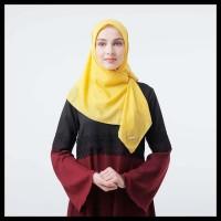 Terlaris Zoya Kerudung Segi Empat Polos - Maruna Nadir Scarf Yellow