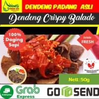 Dendeng Sapi Kering Crispy Balado Dendeng Sambal Padang Paket Tester