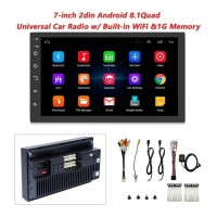 ANDROID Head Unit Tape Mobil 7 Inch Double Din Wifi Youtube GPS Google