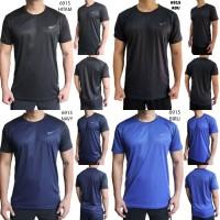 Kaos Olahraga Pria Nike 6915 Baju Gym Fitness Lari Cowok Training
