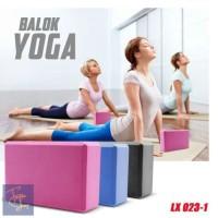 Yoga Blok Pilates EVA Brick Foam Alat Fitnes Yoga Balok Yoga 023 -1