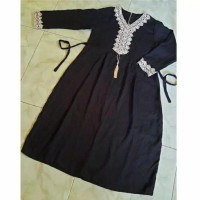 Gamis Arab anak perempuan/gamis Keysa anak anak/baju anak model lengan