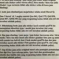 PROMO QXA564 JAM DINDING SEIKO 50CM - ABU-ABU BEST SELLER