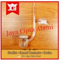 diffuser co2 atomizer acrylic akrilik bkn ista up nac glass nano mini