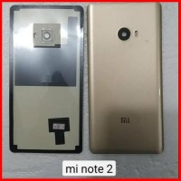 Backdoor Back Cover Tutup Belakang Mi 2 Note Gold Xiaomi