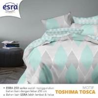 Bedcover & Sprei Katun Esra Toshima Tosca Uk.140x200 s.d 200x200