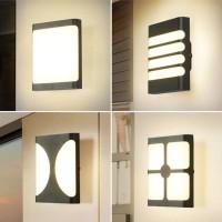LAMPU DINDING MINIMALIS OUTDOOR LED 20 WATT/LAMPU HIAS /lAMPU DECORASI