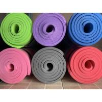 Premium TEBEL Matras Yoga Mat 10mm x 63cm x 183cm Senam Matt Pilates