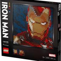 LEGO 31199 ART Marvel Studios Iron Man
