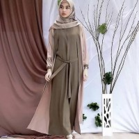 Baju Gamis Muslim Wanita Remaja Dan Dewasa Kekinian Terbaru Murah