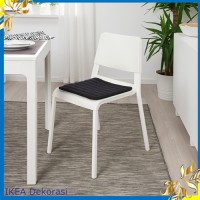 Bantal Ikea HERDIS Alas / bantal kursi,Alas Duduk hitam, 37x37 cm