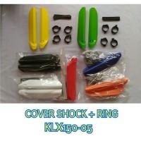 COVER TUTUP SHOCK PLUS RING KLX 150 -ML KUALITAS BAGUS