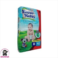 HAPPY NAPPY Baby Diapers Popok Perekat M40 M 40