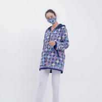 Calathea Jacket T0681 Baju atasan jacket batik wanita modern - All Size