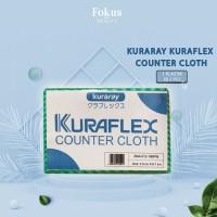 Kuraray Kain Lap KURAFLEX Counter Cloth - isi 5 pcs
