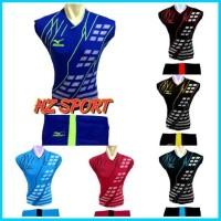 Baju Mizuno Volly Kaos Voli Jersey Sepak Bola Futsal Pria Wanita Dewas