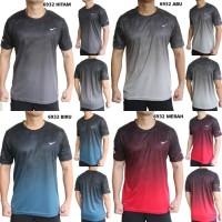 Kaos Olahraga Pria Nike 6932 Baju Gym Fitness Lari Cowok Training