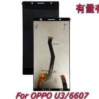 LCD TOUCHSCREEN OPPO U3 - 6607 - LCD TS OPP BLACK ORG