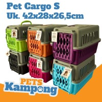 Pet cargo carrier tas travel hewan small untuk kucing hewan kecil
