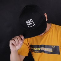 HIPSTER Topi skaters casual style BLACK