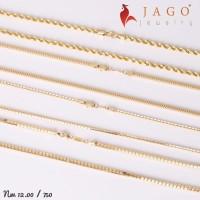 Jago jewelry Kalung Emas Seraphina - Perhiasan Emas 18K-Y