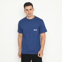 Papperdine Jeans TP0120 Estate Blue Pocket T-Shirt FW20 Kaos Pria