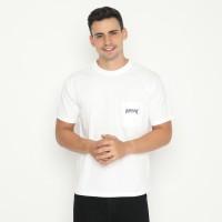 Papperdine Jeans TP0120 White Pocket T-Shirt FW20 Kaos Pria