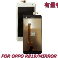 LCD TOUCHSCREEN OPPO R819 - MIRROR - LCD TS OPP WHITE