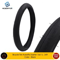 BAN LUAR ACEOFFIX DASHER 16x1 1/4 349 Sepeda BROMPTON 3SIXTY PIKESGUST