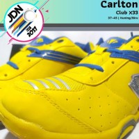 TERLARIS CARLTON CLUB X33 SEPATU BADMINTON TENIS MEJA SIZE 37-45 -