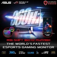Asus Rog Swift 360Hz Pg259Qn | Ips Gaming Monitor Fhd 360Hz 1Ms G-Sync