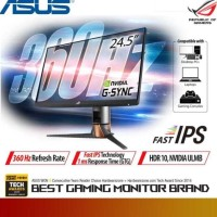 Asus Rog Swift 360Hz Pg259Qn | Gaming Monitor Full Hd 360Hz 1Ms G-Sync