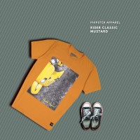 HIPSTER T-Shirt Kaos Rider Classic Mustard