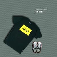 HIPSTER T-Shirt Kaos Prestige Color Green