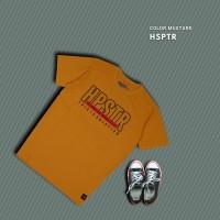 HIPSTER T-Shirt Kaos HSPTR Mustard