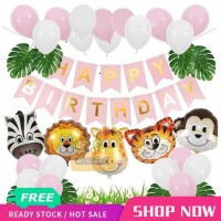 Paket Dekorasi Hiasan Balon Ulang Tahun / Happy Birthday Animal