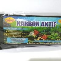 arang karbon carbon aktif teja aquarium aquascape ikan hias